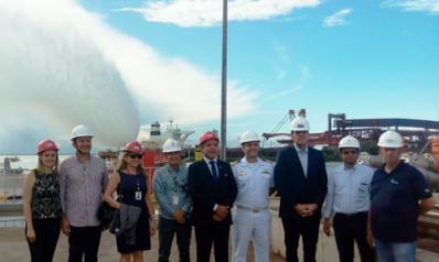 Entrega Oficial sistema de proteção contra incêndio Itaqui